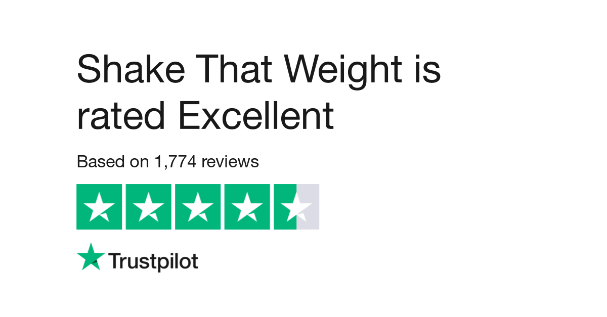 Shake That Weight Positive Reviews